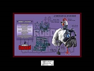 Acme Archives Robot Chicken Character Key